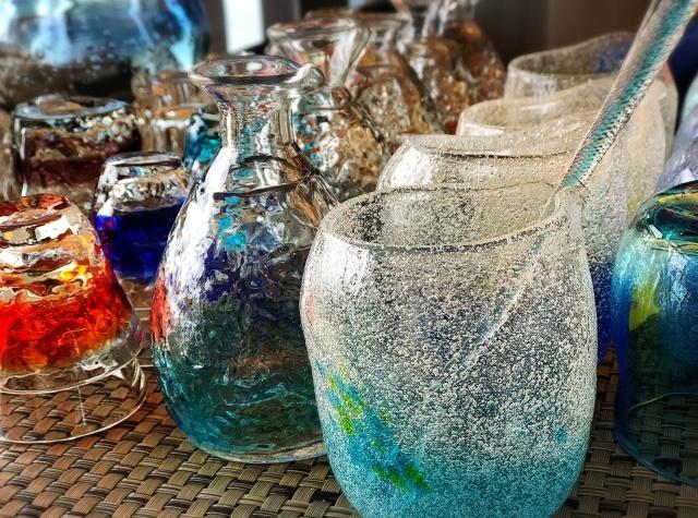 琉球ガラスの特徴と魅力とは?沖縄の伝統工芸はリサイクル品?3